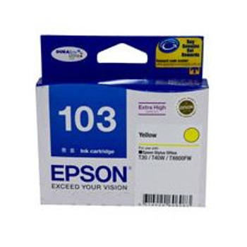 Image for Epson T103492 Extra High Capacity Yellow Ink Cartridge AusPCMarket