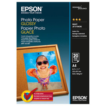Image for Epson Genuine Photo Paper Glossy A4 50 Sheet (200gsm) - C13S042539 AusPCMarket