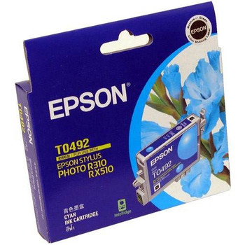 Image for Epson T0492 Stylus Cyan Ink 430 pages (T049290) AusPCMarket