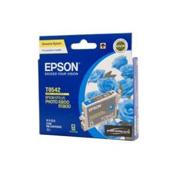 Image for Epson T0542 Stylus Cyan Ink 440 pages (T054290) AusPCMarket