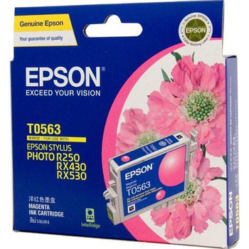 Image for Epson T0563 Stylus Magenta Ink 290 pages (T056390) AusPCMarket