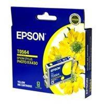 Image for Epson T0564 Stylus Yellow Ink 290 pages (T056490) AusPCMarket