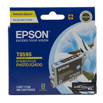 Image for Epson T0595 Light Cyan Ink Cat 450 pages Light Cyan AusPCMarket