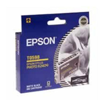 Image for Epson T0598 Matte Blk Ink Cat 450 pages Matte Black AusPCMarket