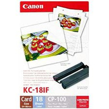 Image for Canon Card Full Size Label & Ink Pack 18 Sheets AusPCMarket