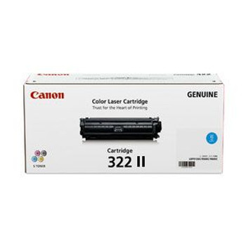 Image for Canon Cyan High Yield Toner cartridge - (CART322CII) AusPCMarket