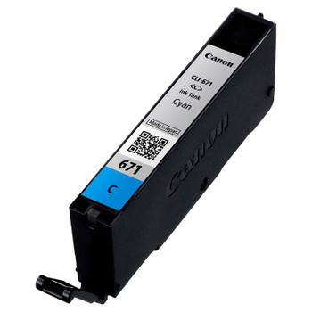 Canon CLI-671C Cyan Ink Cartridge Up To 306 pages Product Image 2