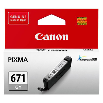 Image for Canon CLI-671GY Grey Ink Cartridge Up To 780 pages AusPCMarket