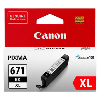 Image for Canon CLI-671XLBK High Capacity Black Ink Cartridge AusPCMarket