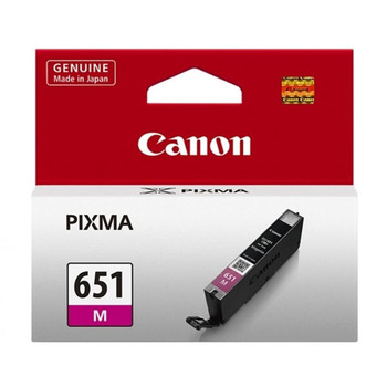 Image for Canon CLI651 Magenta Ink Cart 319 A4 Pages (ISO/IEC 24711) Magenta AusPCMarket