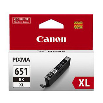 Image for Canon CLI651XL Black Ink Cart 5530 A4 pages (ISO/IEC 24711) Black AusPCMarket