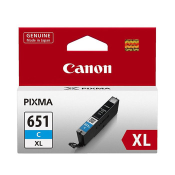 Image for Canon CLI651XL Cyan Ink Cart 695 A4 pages (ISO/IEC 24711) Cyan AusPCMarket