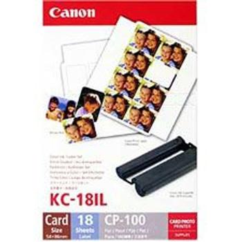 Image for Canon KC-18IL Ink Label Set AusPCMarket