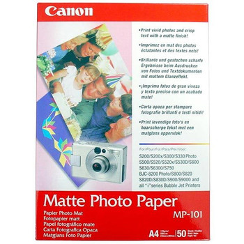 Image for Canon MP-101 Matte Photo Paper A4 170gGsm 50 Pack AusPCMarket