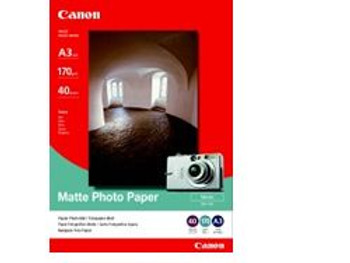 Image for Canon MP101A3 Heavy Weight Matte A3 Photo Paper 40 Pack AusPCMarket