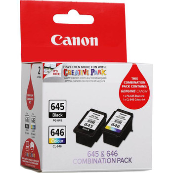 Canon PG-645 CL-646 Twin Pack Ink Cartridge Product Image 2