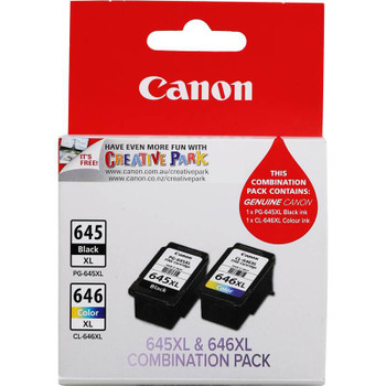 Image for Canon PG-645 CL-646 XL Twin Pack Ink Cartridge AusPCMarket