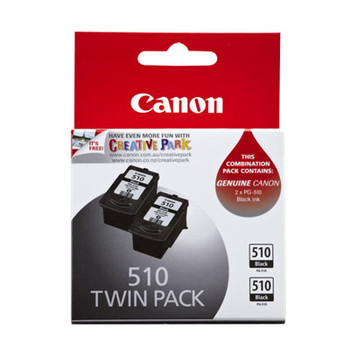 Image for Canon PG510 Blk Ink Twin Pack 2 x 220 pages Black AusPCMarket