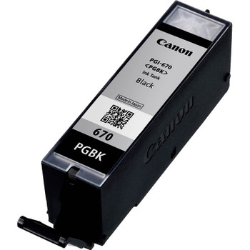 Canon PGI-670BK Black Ink Cartridge Up To 300 pages Product Image 2