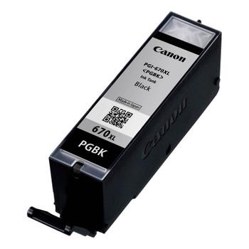 Canon PGI-670XLBK High Capacity Black Ink Cartridge Up To 500 pages Product Image 2
