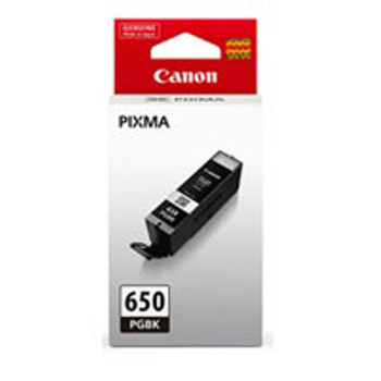 Image for Canon PGI650 Black Ink Cart 300 A4 Pages (ISO/IEC 24711) Black AusPCMarket