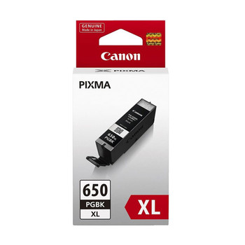 Image for Canon PGI650XL Black Ink Cart 500 A4 pages (ISO/IEC 24711) Black AusPCMarket