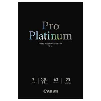 Image for Canon PT101A3 20 sheets A3 300gsm Photo Paper Premium AusPCMarket