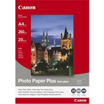 Image for Canon SG201A4 20 Sheets 260 gsm Semi Gloss Photo Paper AusPCMarket