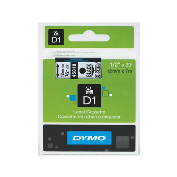 Image for Dymo Blk on Clr 12mmx7m Tape 12mm x 7m AusPCMarket