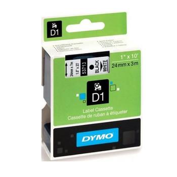 Image for Dymo Blk on Wht 24mmx7m Tape 24mm x 7m AusPCMarket