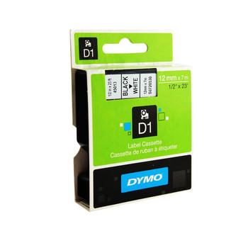 Image for Dymo Blk on Wht 6mm x7m Tape 6mm x 7m AusPCMarket