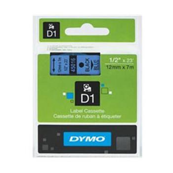 Image for Dymo Blue on Wht 12mmx7m Tape 12mm x 7m AusPCMarket