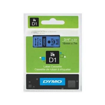 Image for Dymo Blue on Wht 19mmx7m Tape 19mm x 7m AusPCMarket