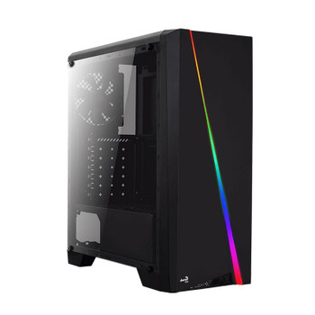 Image for Aerocool Cylon RGB Mid-Tower ATX Case - Black AusPCMarket