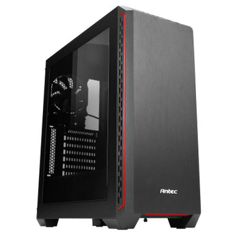 Image for Antec P7 Window Elite Performance Mid-Tower ATX Case - Red AusPCMarket