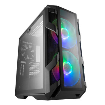 Image for Cooler Master Mastercase H500M RGB Tempered Glass E-ATX Mid-Tower Case AusPCMarket