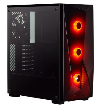 Image for Corsair Carbide SPEC-DELTA RGB Mid-Tower Tempered Glass ATX Gaming Case - Black AusPCMarket