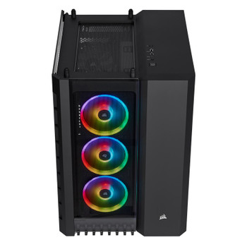 Corsair Crystal 680X Smart RGB Tempered Glass Mid-Tower E-ATX Case - Black Product Image 2