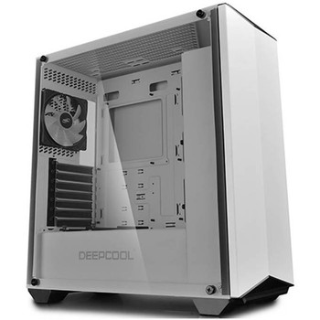 Image for Deepcool EarlKase RGB Tempered Glass Mid-Tower ATX Case - White AusPCMarket