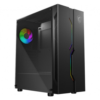 Image for MSI MAG Vampiric 010 RGB Tempered Glass Mid-Tower ATX Case AusPCMarket
