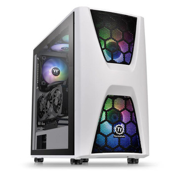 Image for Thermaltake Commander C34 Tempered Glass ARGB Mid-Tower ATX Case - Snow Edition AusPCMarket