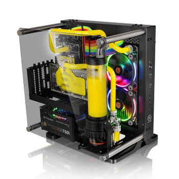 Image for Thermaltake Core P1 TG Wall Mount Mini-ITX Case AusPCMarket