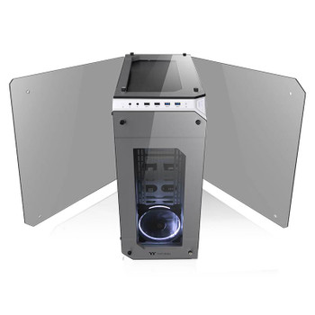 Thermaltake View 71 Tempered Glass ATX Case - Snow Edition Product Image 2