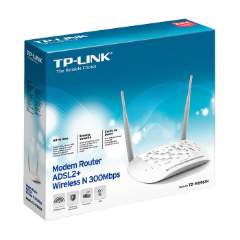 TP-Link TD-W8961N Wireless N300 ADSL2+ Modem Router - NBN Ready Product Image 2