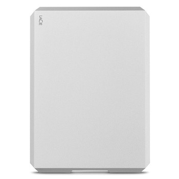 LaCie 1TB Mobile Drive USB 3.1 Type-C Portable Hard Drive - Moon Silver Product Image 2