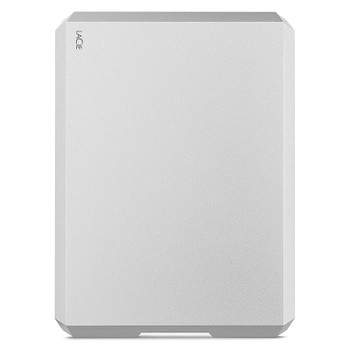 LaCie 5TB Mobile Drive USB 3.1 Type-C Portable Hard Drive - Moon Silver Product Image 2
