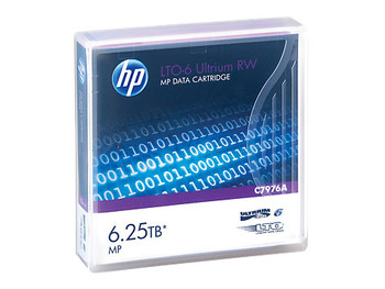 Image for HP LTO-6 Ultrium 6.25TB MP RW Data Cartridge - C7976A AusPCMarket