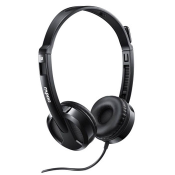 Image for Rapoo H100 Wired Stereo Headset AusPCMarket