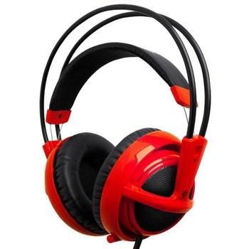 Image for SteelSeries Siberia V2 Full-Size Gaming Headset - Red AusPCMarket