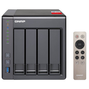 Image for QNAP TS-451+-2G 4 Bay Diskless NAS Intel Quad Core 2.0GHz CPU 2GB RAM AusPCMarket